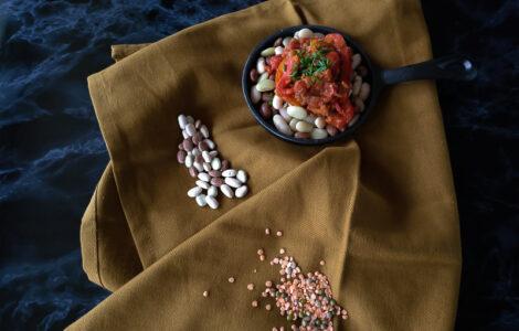 vegansk peberfrugt Picadillo